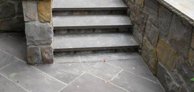 Flagstone Steps and Patio
